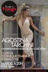 Agostina Tarchini Championne Mondiale de Tango de Scene