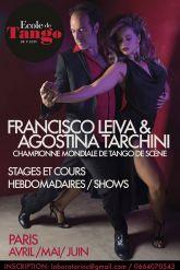 Agostina Tarchini et Francisco Leiva  Championne Mondiale de Tango de Scene