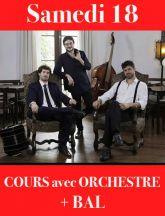 Cours et Bal Avec Orchestre