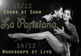 Deux Soirs la Parisiana Avec Lucas Carrizo et Paula Tejeda