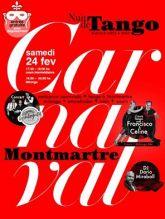 Milonga de Carnaval Tango  Montmartre 24 Fev