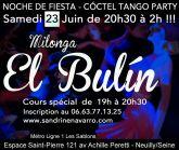 Milonga el Bulin Neuilly