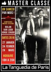 Rolan et Jorge  Master Classes a la Tanguedia de Paris