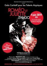 Romeo et Juliette Tango au Theatre du Gymnase Paris