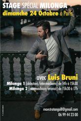 Stage Avec Luis Bruni