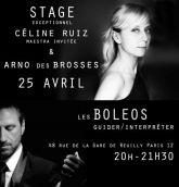 Stage Boleos Avec Celine Ruiz et Arno Des Brosses