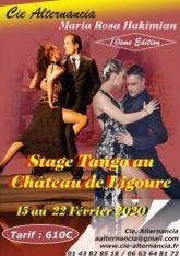 Stage Tango au Chateau de Ligoure 10e Edition