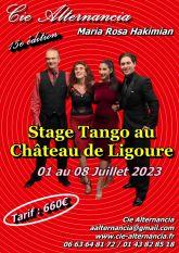 Stage Tango au Chateau de Ligoure