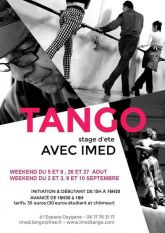 Stages d ete avec Imed Chemam