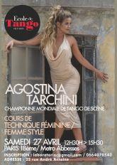 Technique Femmes Avec Agostina Tarchini